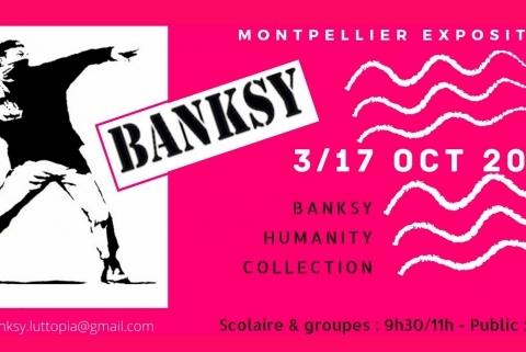 Banksy exposé à montpellier !